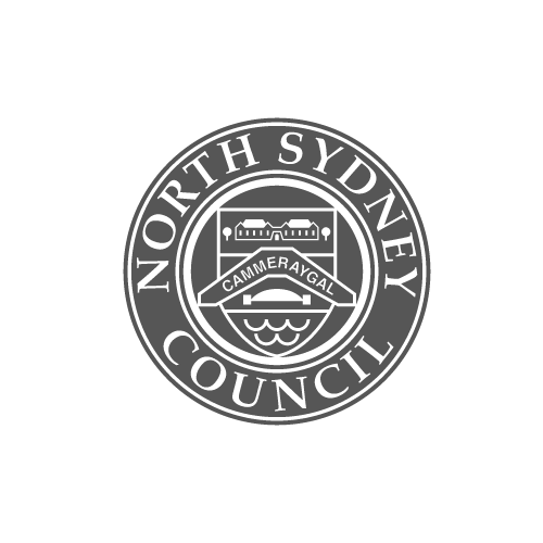 North Sydney Council logo - Video Productions by Paper Cranes Productions
