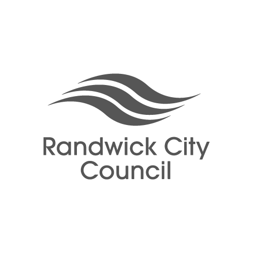 Randwick City Council logo - Video Productions by Paper Cranes Productions
