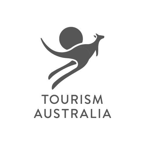 Tourism Australia logo - Video Productions by Paper Cranes Productions