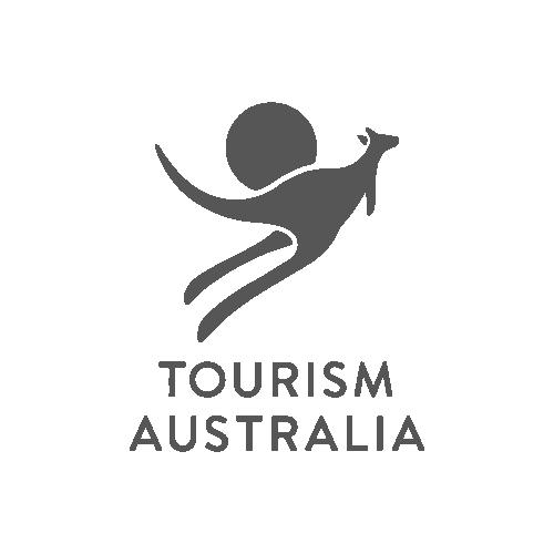 Tourism Australia logo - Video Productions by Paper Cranes Productions