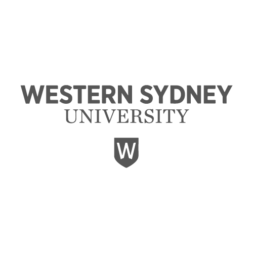 Western Sydney University logo - Video Productions by Paper Cranes Productions